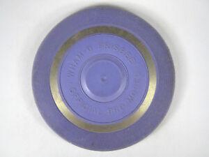 "Wham-O Whamo Pro Model Frisbee Fly Disc - Vintage Rare PURPLE ""Reverse 1"" mold"