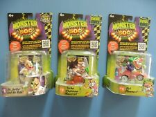 Monster 500 Dr Jerkyl and Mr Ride+Turbo Chainsaw Maverick + Evil Clownevil NEW