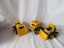 Toy State CAT Caterpillar Construction Toys Mini Machine set of 3