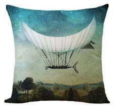 Steampunk  Hot Air Balloon Cosplay Cushion Cover  45cm fantasy