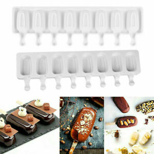 DIY Silicone Ice Cream Cake Mold Ice Lolly Baking Frozen Mould Tray Kitchen Tool
