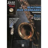 Realtime Jazz Standards - Saxophon Noten [Musiknoten]
