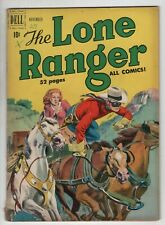 Lone Ranger 29 Dell 1950 VG FN Western TV Cowboy Horse Indian Pin-Up