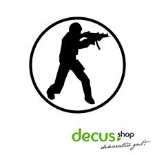 Counter Strike Logo // Sticker OEM JDM Style Aufkleber // Sticker JDM Aufkleber