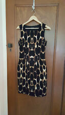 "Jigsaw ""giraffe"" print dress - size 10"