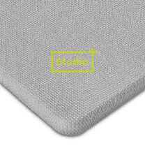 Studio + Light Grey HiFi Acoustic Speaker Grill Mesh Fabric Cloth 1m x 1.6m