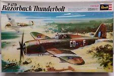 1/32 Revell P-47D Razorback Thunderbolt Vintage 1971 Sealed Kit!!