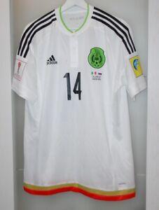 Match worn shirt Mexico national team Chicharito Real Madrid Man Utd Los Angeles