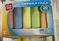 Sidewalk Chalk 20 Pieces, 6 colors Factory- Brand New