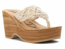 Wedge Beach Shoes Cotton Upper for Women