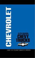 1994 Chevrolet C K Pickup Truck Owners Manual User Guide Operator Book Fuses