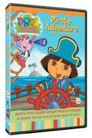 Dora The Explorer Doras Pirate Adventure - DVD - VERY GOOD