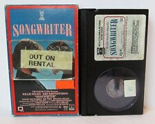 SONGWRITER BETA BETAMAX VIDEO CASSETTE TAPE, Willie Nelson, Kris Kristofferson