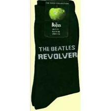 OFFICIAL LICENSED - THE BEATLES - REVOLVER BLACK MENS SOCKS SIZE 7/11 LENNON