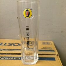 12 x Fosters Lager Half Pint Official Toughened Nucleated Brand New