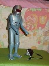 vintage 1979 ROM THE SPACE KNIGHT WITH LIGHT CORD, ONE WEAPON AND BACKPACK
