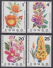 CONGO - KINSHASA - 1971 Tropical Plants (4v) - UM / MNH