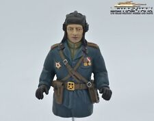Tank Russe conducteur commandant halbfigur Resin Haute Qualité peintes à la main 1:16