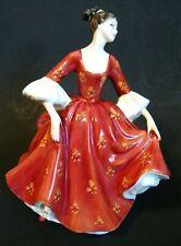 "Royal Doulton Porcelain Figurine Stephanie Hn 2811 - 7 1/2"" H (Es 4)"
