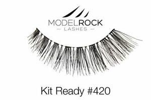 Modelrock - Kit Ready #420 - Handmade Fake False Eyelash Lashes 100% Human Hair