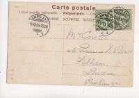 Switzerland 16 Dec 1905 1528 No.2 Ambulant Postmark 250b