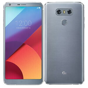 LG G6 32GB Ice Platinum Sim Free Smart Phone Andriod Touch Screen DEMO RETAIL