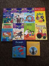 9 Children's Books And A Cd Ladybird Topsy