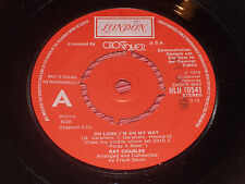 "Ray Charles:  Oh Lord i'm on my way   1976  DEMO   7""   EX+"