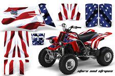 ATV Graphics Kit Quad Decal Sticker Wrap For Yamaha Banshee 350 87-05 USA FLAG