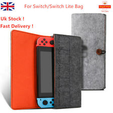 For Nintendo Switch/Lite Portable Felt Travel Carry Bag Pouch Storage Case Cover