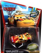 Disney Cars Cars 2 Main Series Miguel Camino with Metallic Finish Diecast Car