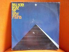 VINYL DOUBLE 33T – PAUL HORN : INSIDE GREAT PYRAMID – 1977 AMBIENT AVANT GARDE