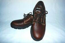Clarks Gortex Stantenwalk mens u.k 9.5 Mahogany Brown Casual Rugged Shoes