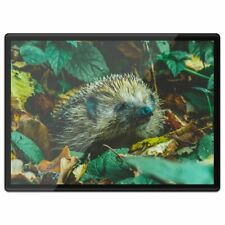 Plastic Placemat A3  - Autumn Leaves Hedgehog Animal  #44180
