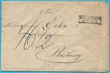 Königreich Preußen M.GLADBACH,Pr. Rheinland/ RB DÜSSELDORF, zweizeiliger Stempel