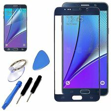Blue LCD Outer Replacement Screen Glass Repair Tools For Samsung Galaxy Note 5