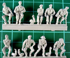 Milicast 1/76 British Army Drivers (10 Figures) FIG084