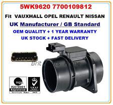 Mass Air Flow meter sensor 5WK9620 1658000QAB for NISSAN PRIMASTAR dCi100 140 80