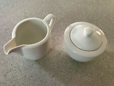 USED VILLEROY & BOCH For Me Creamer AND Sugar Bowl