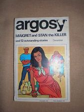 Vintage Argosy December 1964 issue Maigret and stan the killer 12 stories in GC