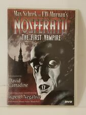 NOSFERATU THE FIRST VAMPIRE with Bonus Video