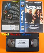 film VHS THE PEACEMAKER George Clooney Nicole Kidman DreamWorks   (F14*) no dvd