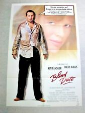 BLIND DATE Original Movie Poster BRUCE WILLIS KIM BASINGER BLAKE EDWARDS