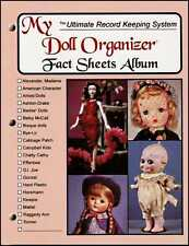 DOLL COLLECTION ORGANIZER Inventory FACT SHEETS ALBUM BOOK