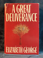 A Great Deliverance, Elizabeth George (Hardcover, 1st Edition & Printing, 1988)
