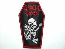 CANNIBAL CORPSE  COFFIN    EMBROIDERED PATCH