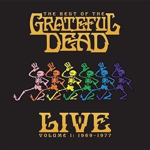 GRATEFUL DEAD - THE BEST OF THE GRATEFUL DEAD LIVE VOL.1  2 VINYL LP NEU