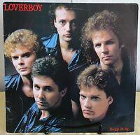 Loverboy -Keep It Up-1983 Columbia – #QC 38703-Rock Vinyl LP - VG+/VG+