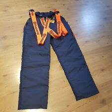 Husqvarna Pro-Light chainsaw trousers 42 inches new with tags + gloves