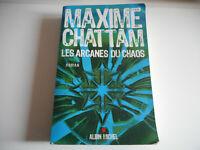 LES ARCANES DU CHAOS / MAXIME CHATTAM - ROMAN